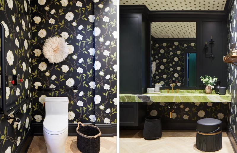 After Powder Room - Gillian Gillian Interiors - June 2020 Newsletter - Photography Virginia Macdonald