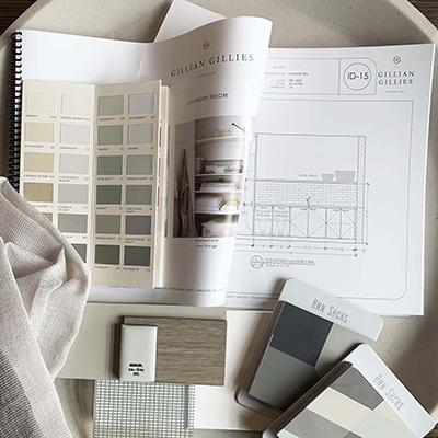 GGI Design Scheme, Gillian Gillies Interiors