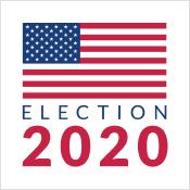 US Election 2020 Web Monitor Logo