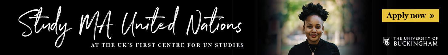 Study MA United Nations