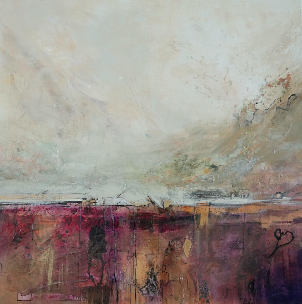Horizon Aubergine (Acrylic)