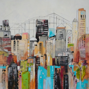 Skyline 3 (Acrylic)