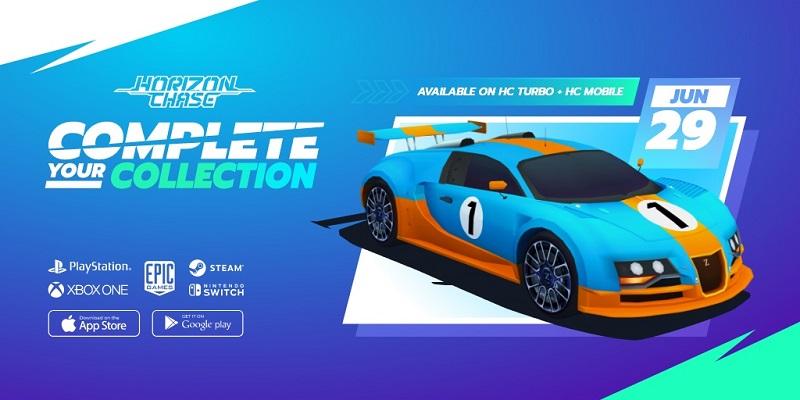 Horizon Chase Turbo estará disponible gratuitamente a partir de hoy hasta el dia 1 de julio en la tienda de Epic