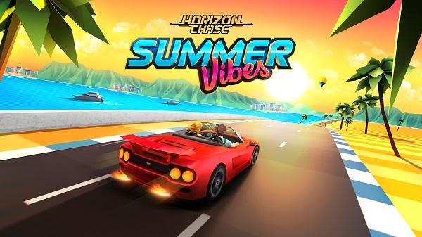 El DLC Summer Vibes y el veloz servicio técnico ya están disponibles en la edición móvil de Horizon Chase