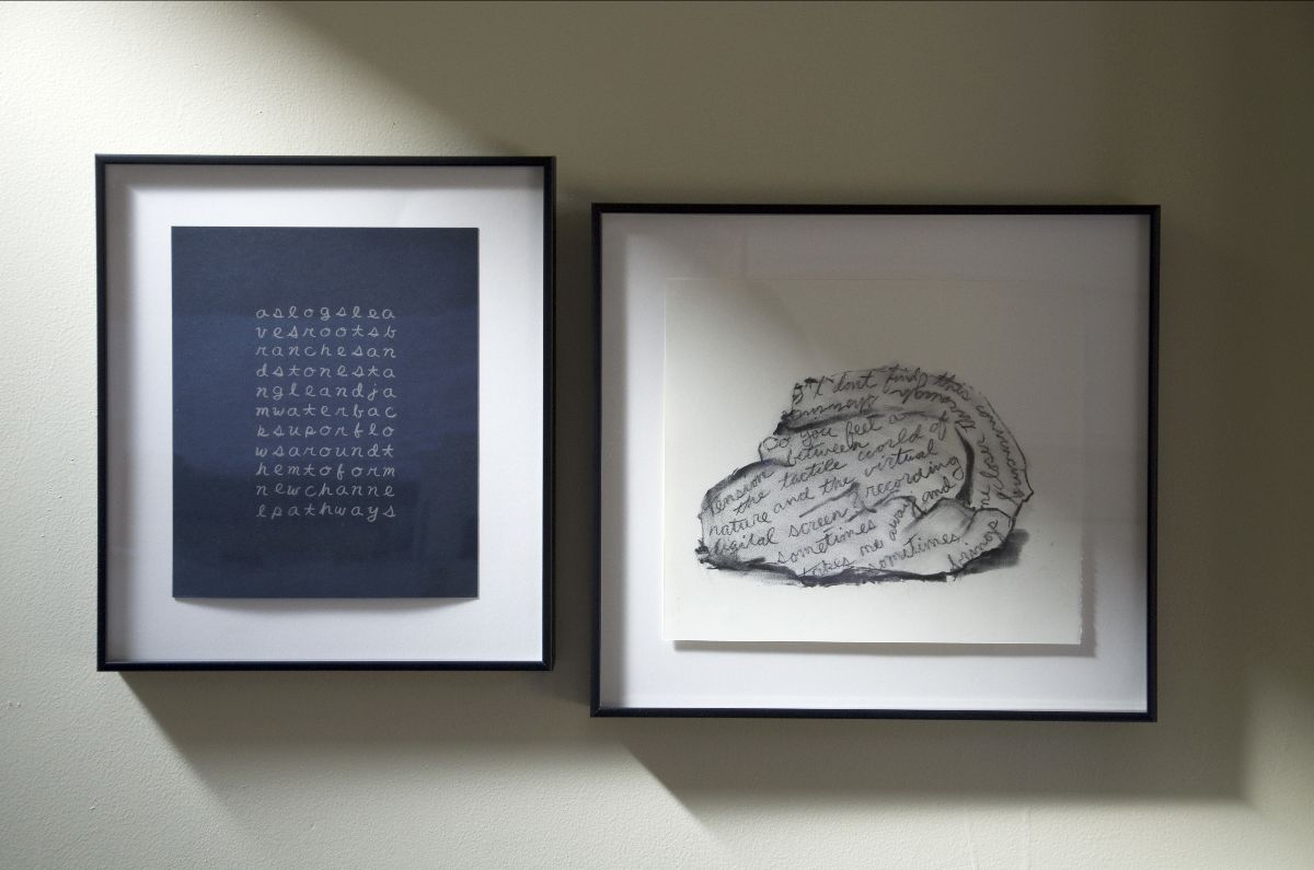 framed drawings from the Confluence project