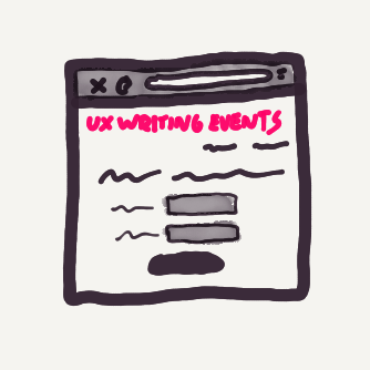 UX Writing Events
