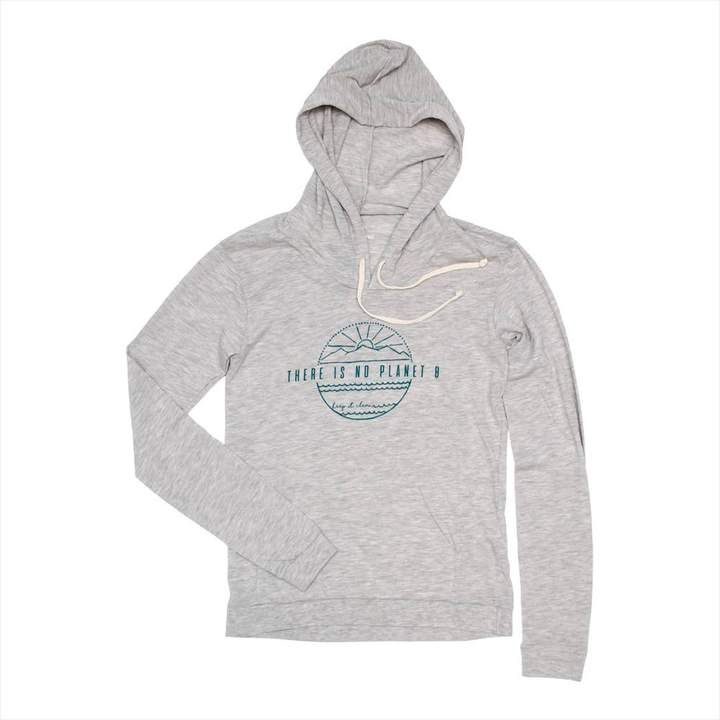 """""""There Is No Planet B"""" Lightweight Hoodie"""