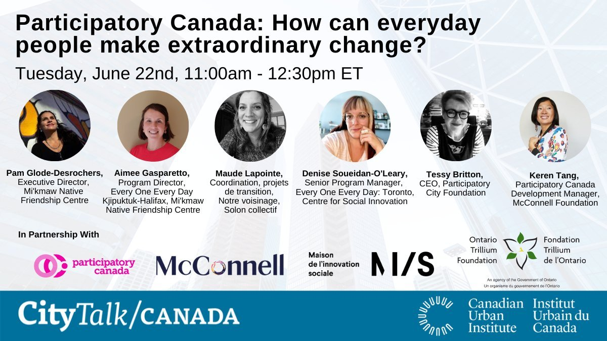 Participatory Canada: How can everyday people make extraordinary change?