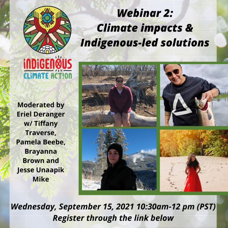 Climate impacts and Indigenous-led solutions