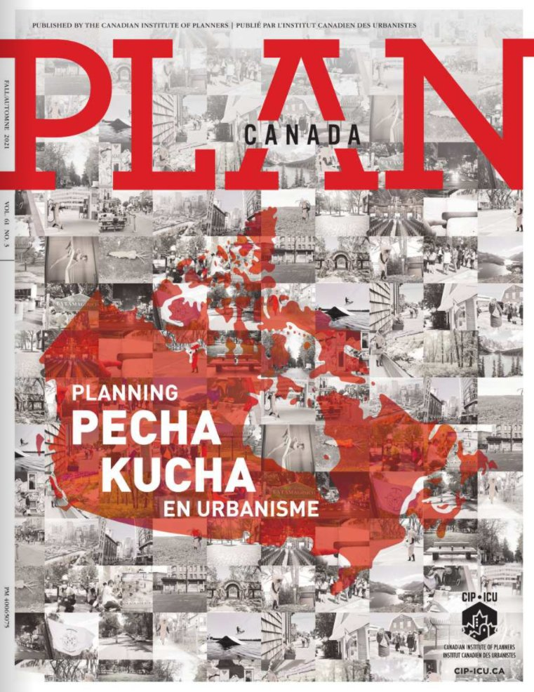 Cover of the PLAN Canada magazine, Fall 2021 issue