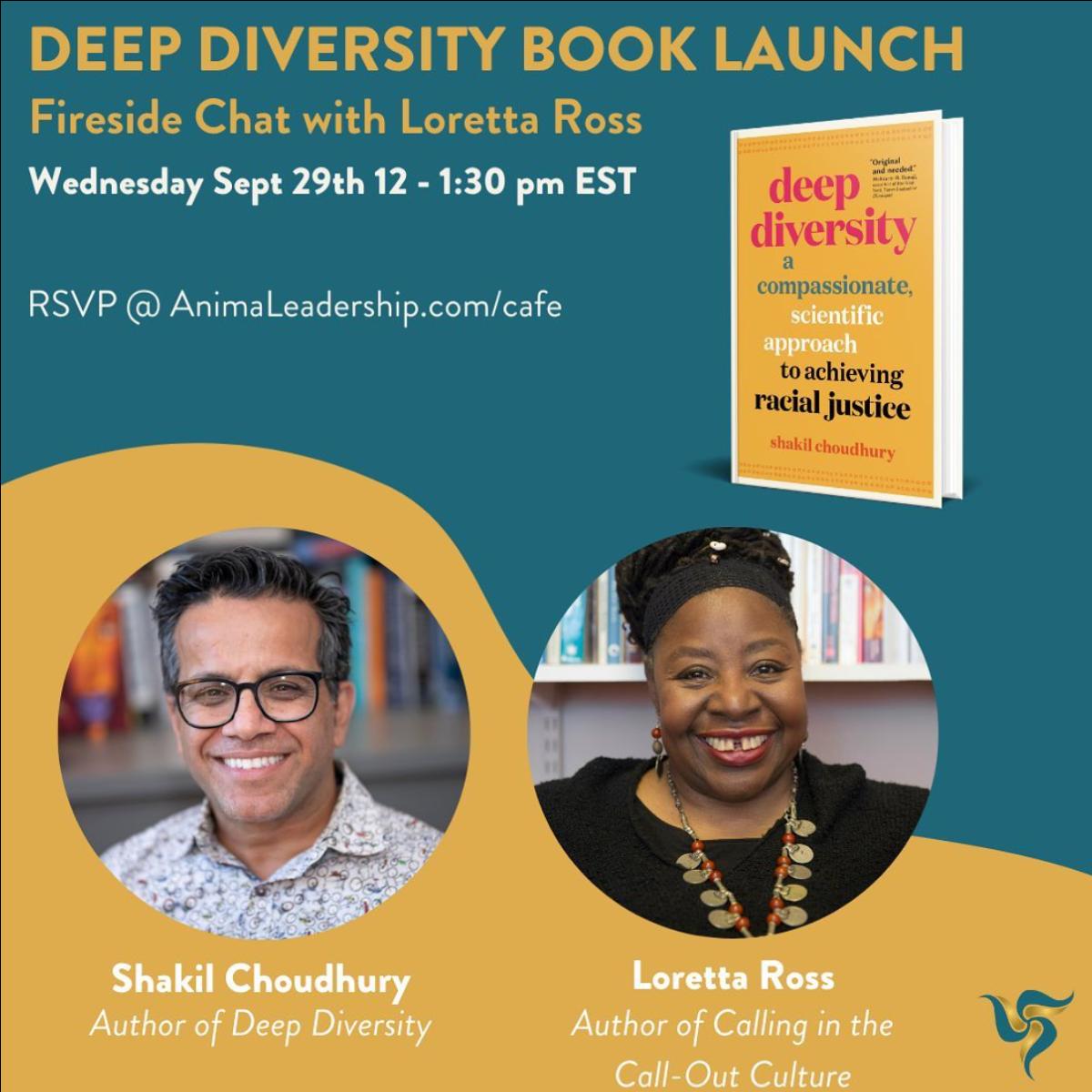 Deep Diversity Book Launch