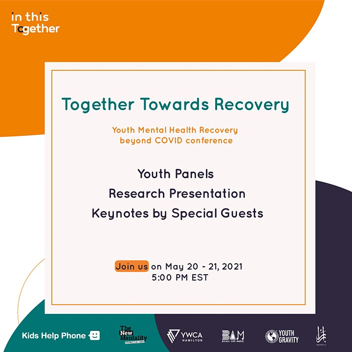 Together Towards Recovery: Youth Mental Health Recovery Beyond COVID conference