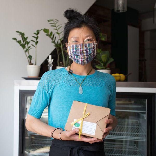 Vanessa Ling Yu, director of caterToronto. Photographer: Samuel Engelking