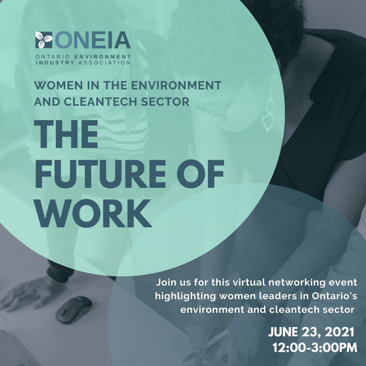 The Future of Work: Women in the Environment and Cleantech Sector