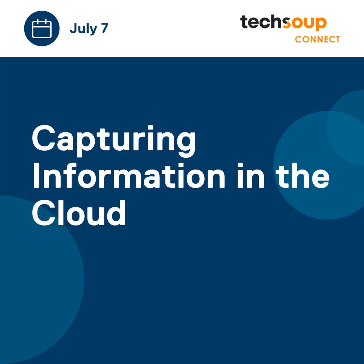 Capturing Information in the Cloud