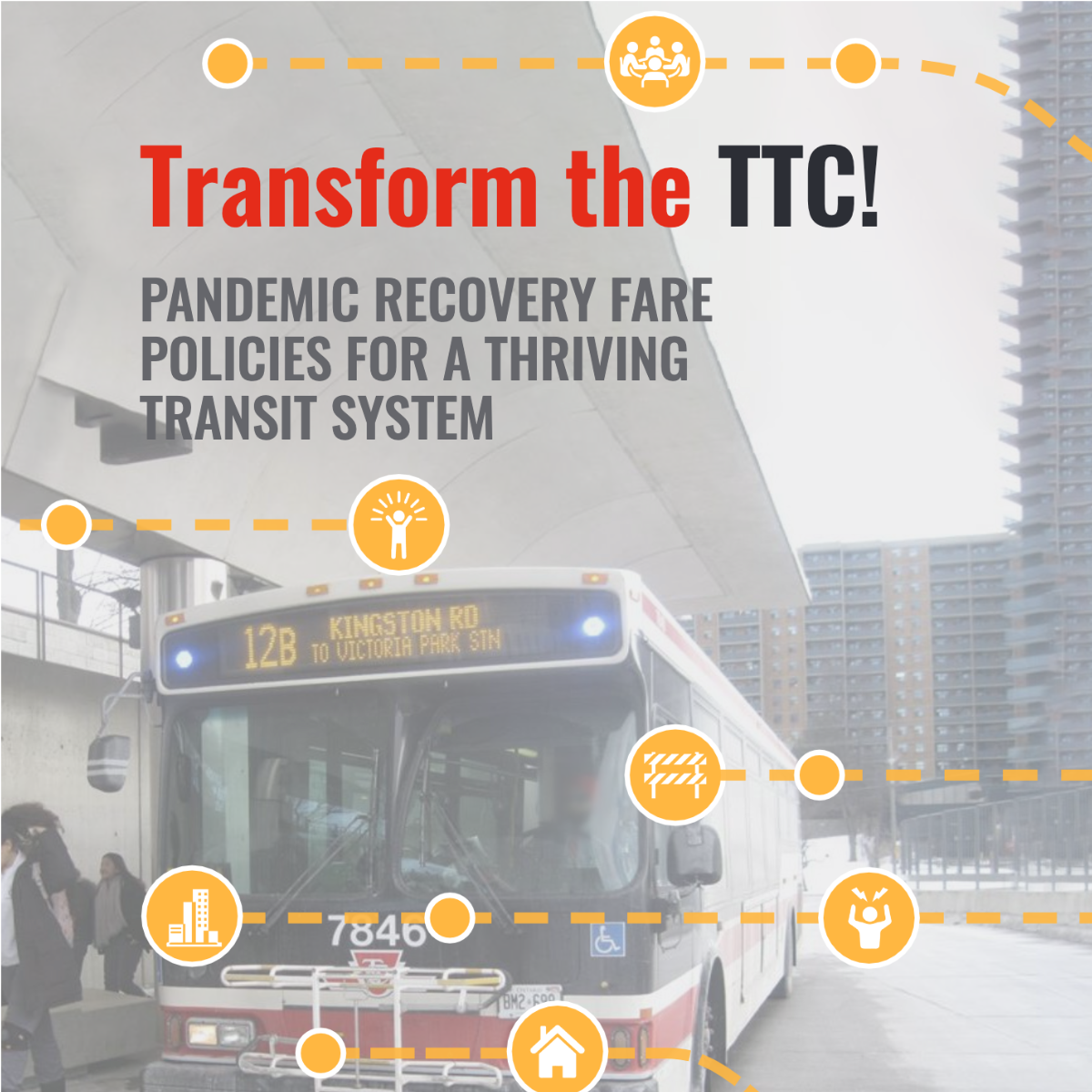 Transform the TTC! Pandemic recovery fare policies for a thriving transit system