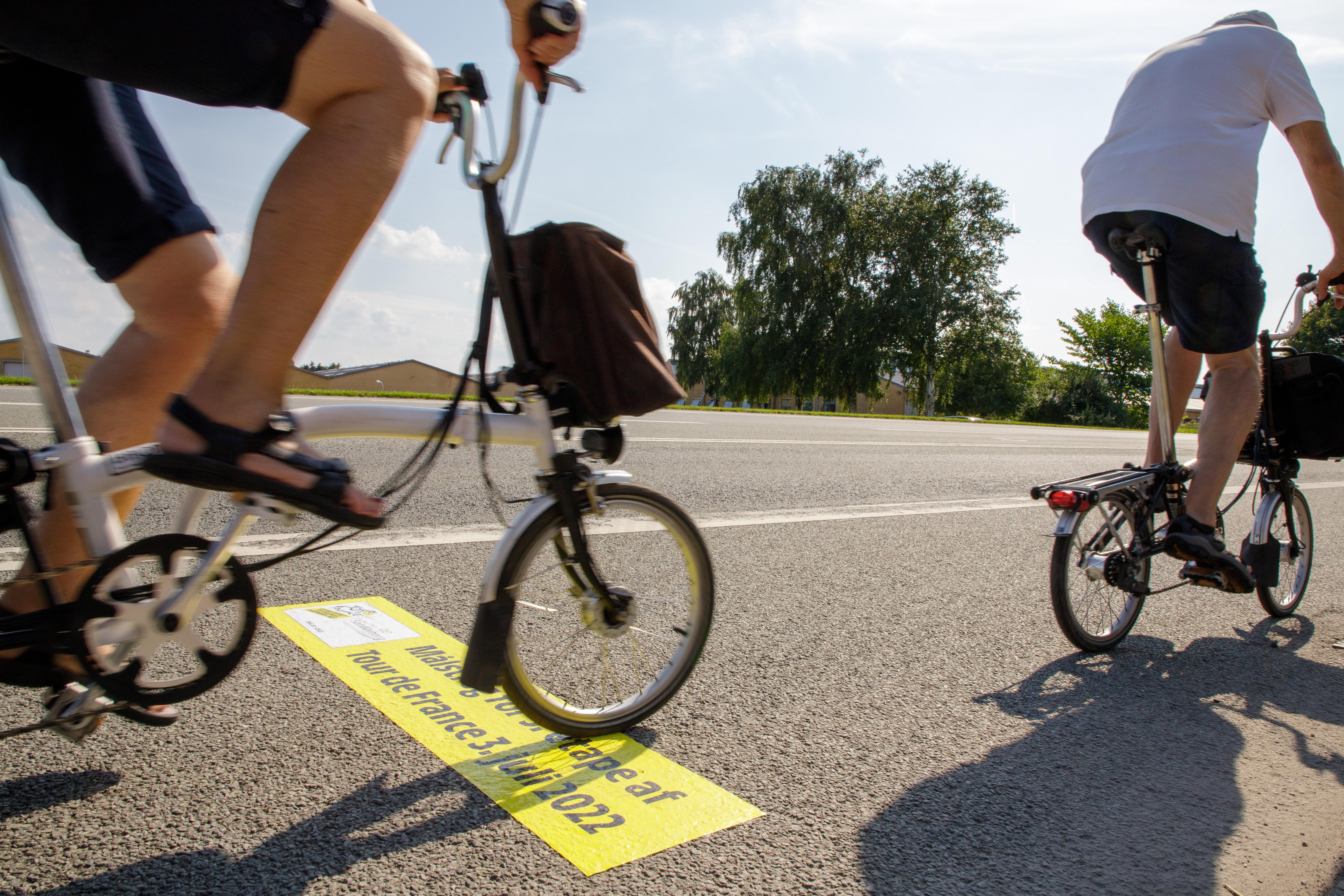 Træd i pedalerne over Tour-målstregen i Sønderborg