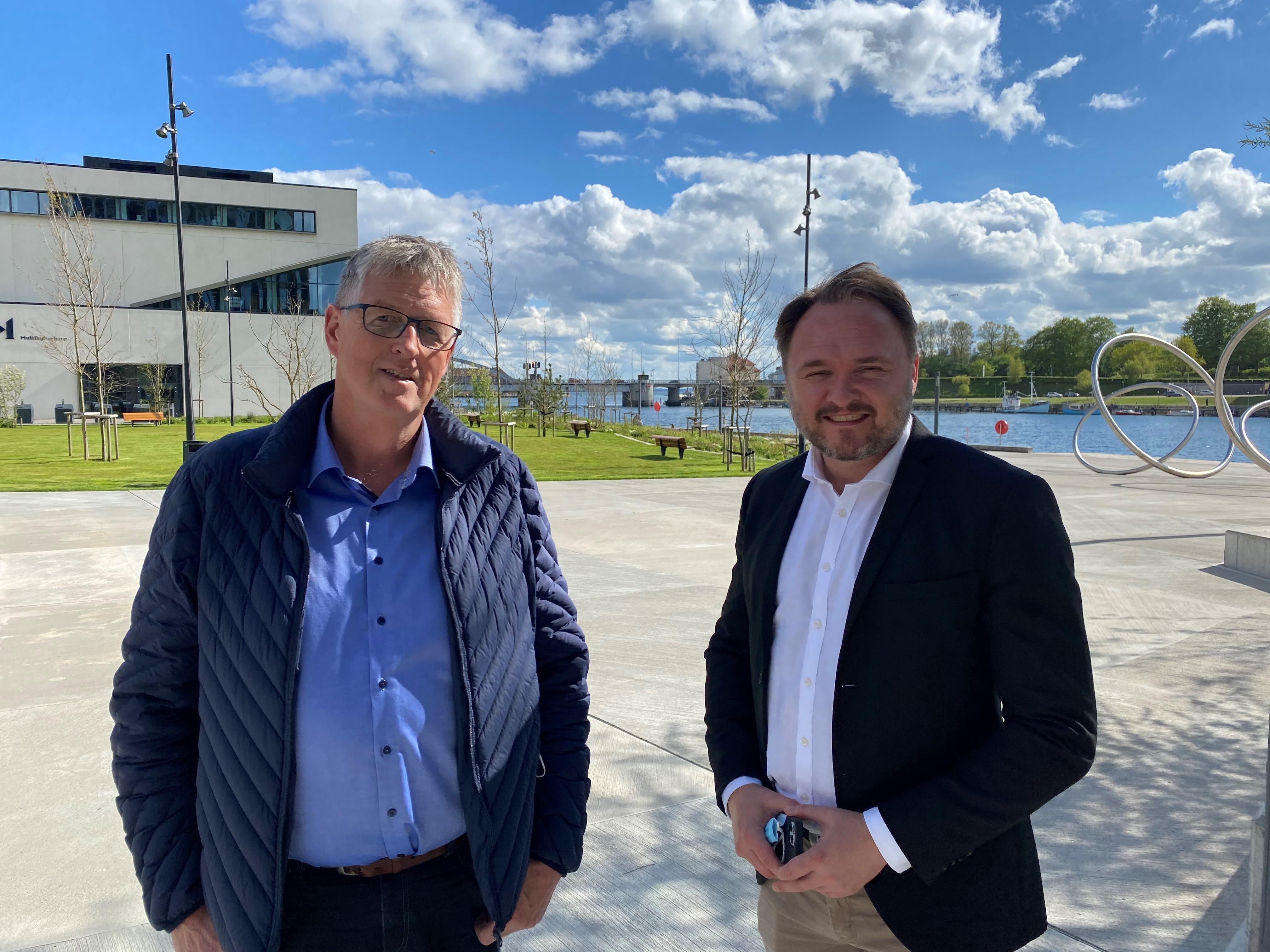 Borgmesteren fortalte klimaministeren om Sønderborgs gode CO2-resultater