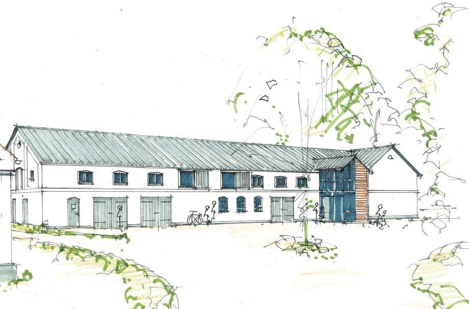 KommuneNyheder - Nu begynder renoveringen af den første bygning i Center for Verdensmål