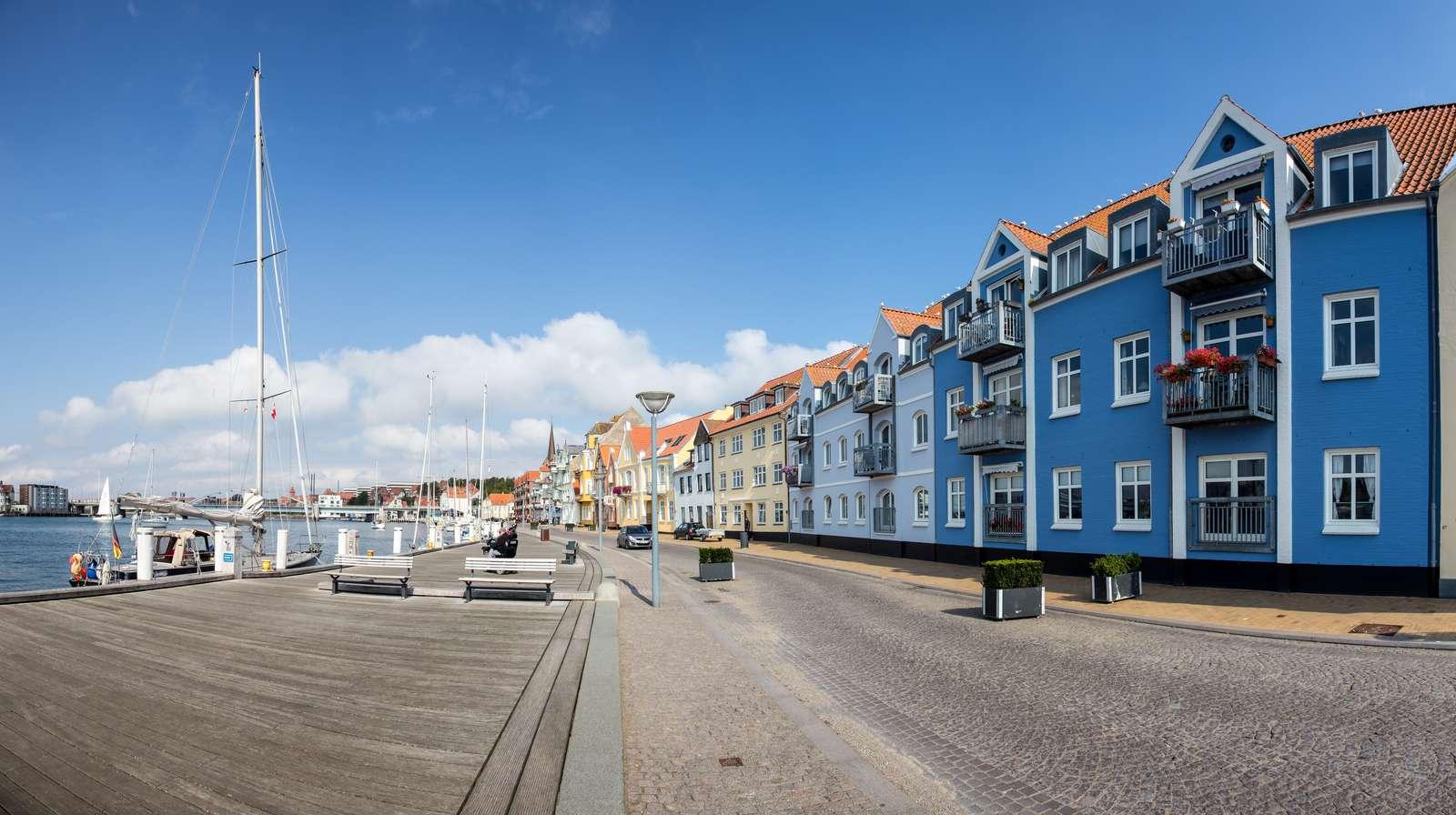 KommuneNyheder - Sønder Havnegade bliver til gågade i to måneder