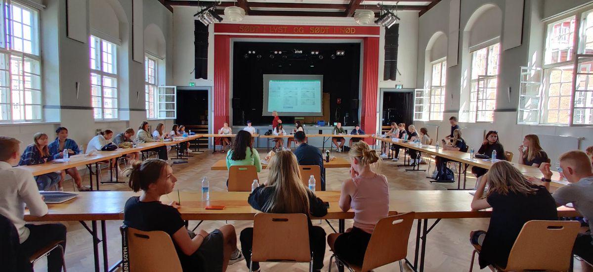 KommuneNyheder - Elev-byråd sætter bedre rammer for demokrati-millionen