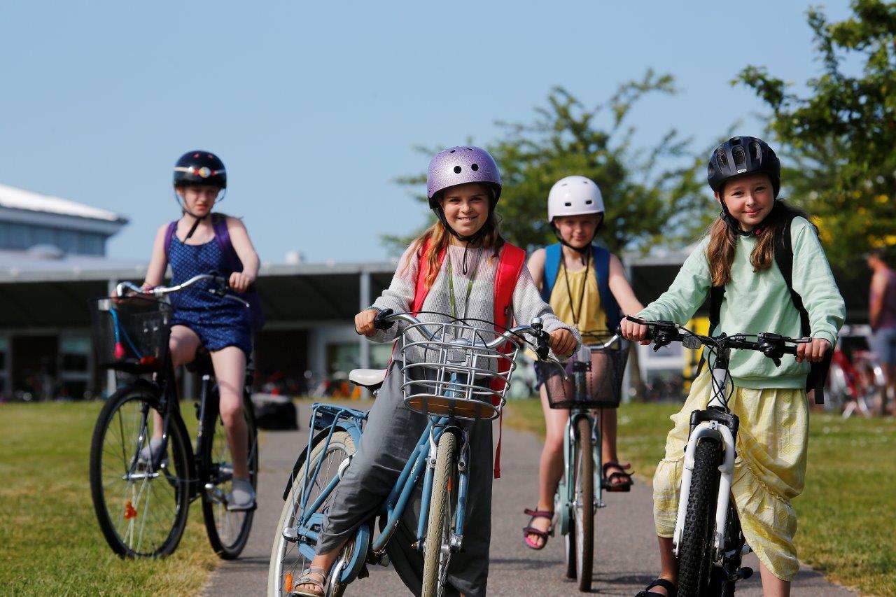 Lav en cykelaftale med dit barn