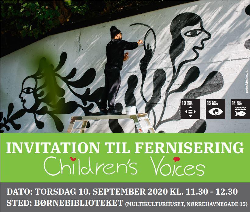 KommuneNyheder - Verdensmål i børnehøjde og fernisering af nyt vægmaleri