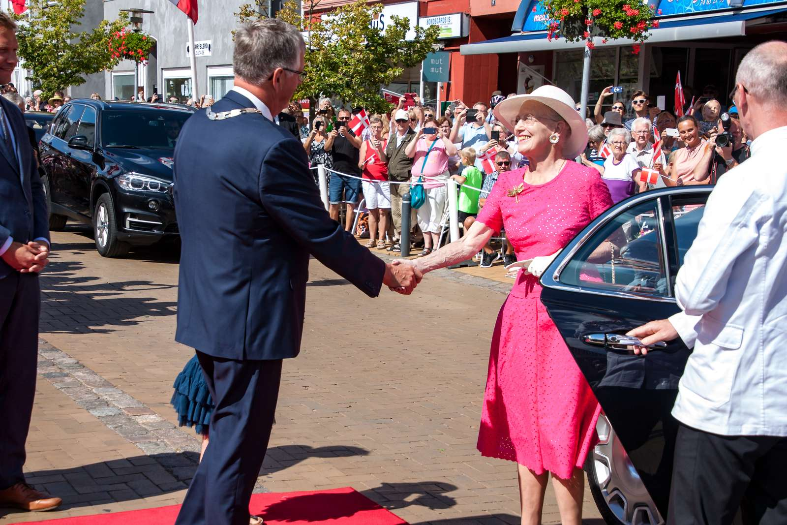 KommuneNyheder - H.M. Dronningen modtages i Sønderborg og Gråsten den 23. juni