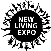 New Living Expo logo vintage