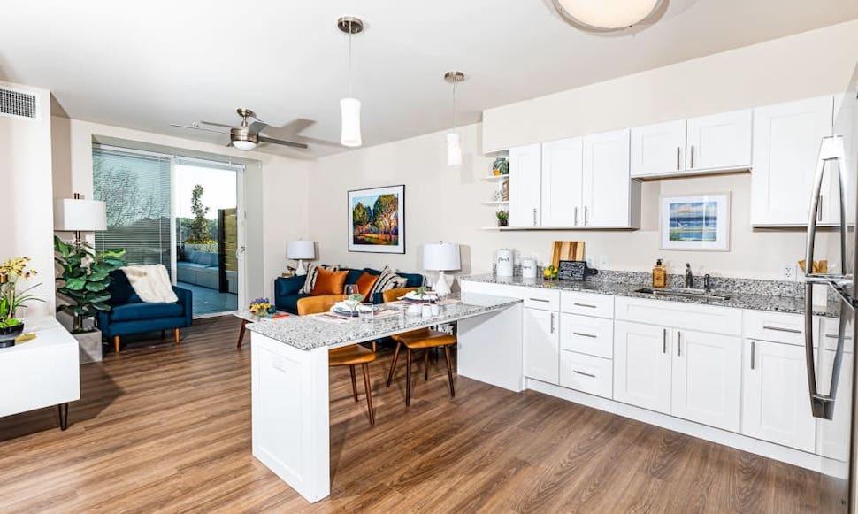 Merrill Gardens apartment kitchen