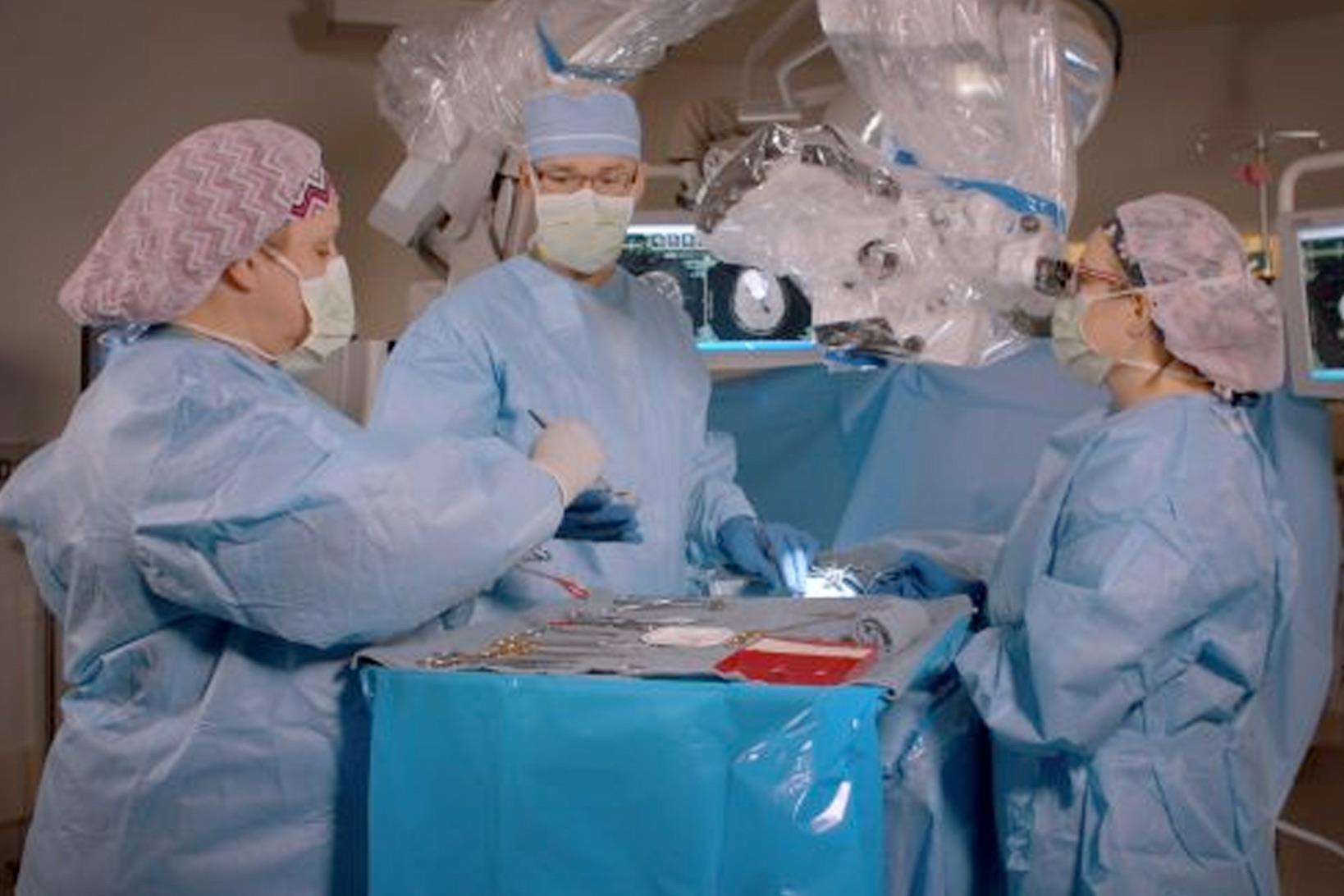Awake craniotomy at Lexington Medical Center