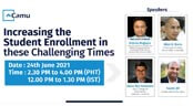 Increasing Student Enrollment In These Challenging Times | 24 Jun 2021