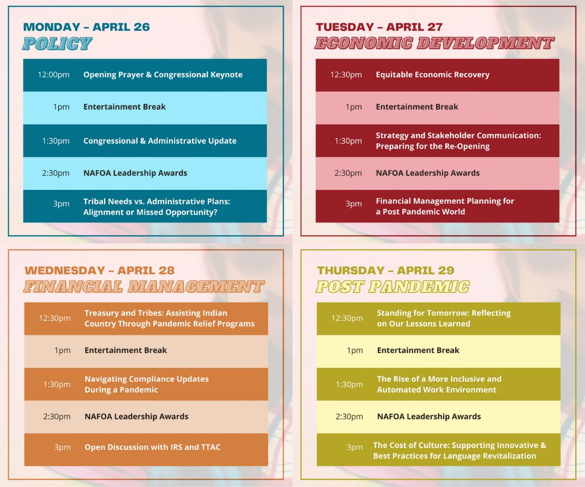 NAFOAVirtual 39th Annual Conference Agenda