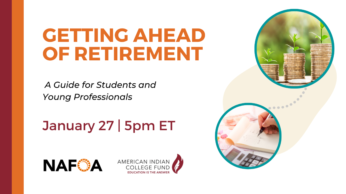 Getting Ahead of Retirement on January 27 at 5pm ET