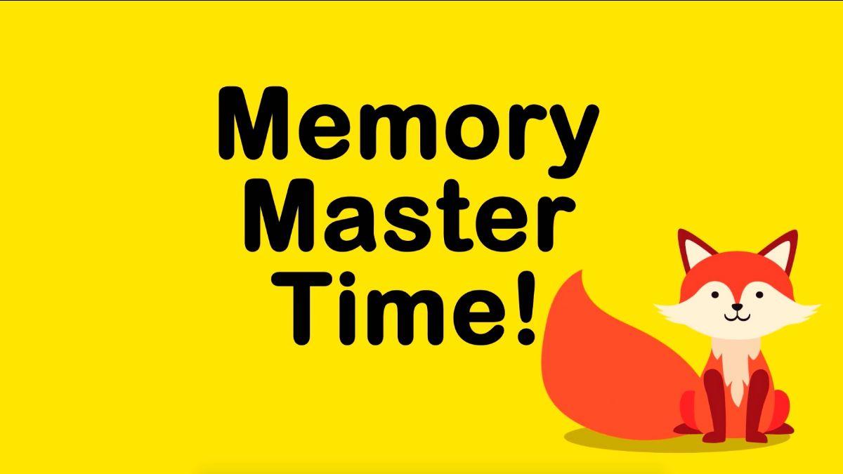 Memory Master Time! | MHE