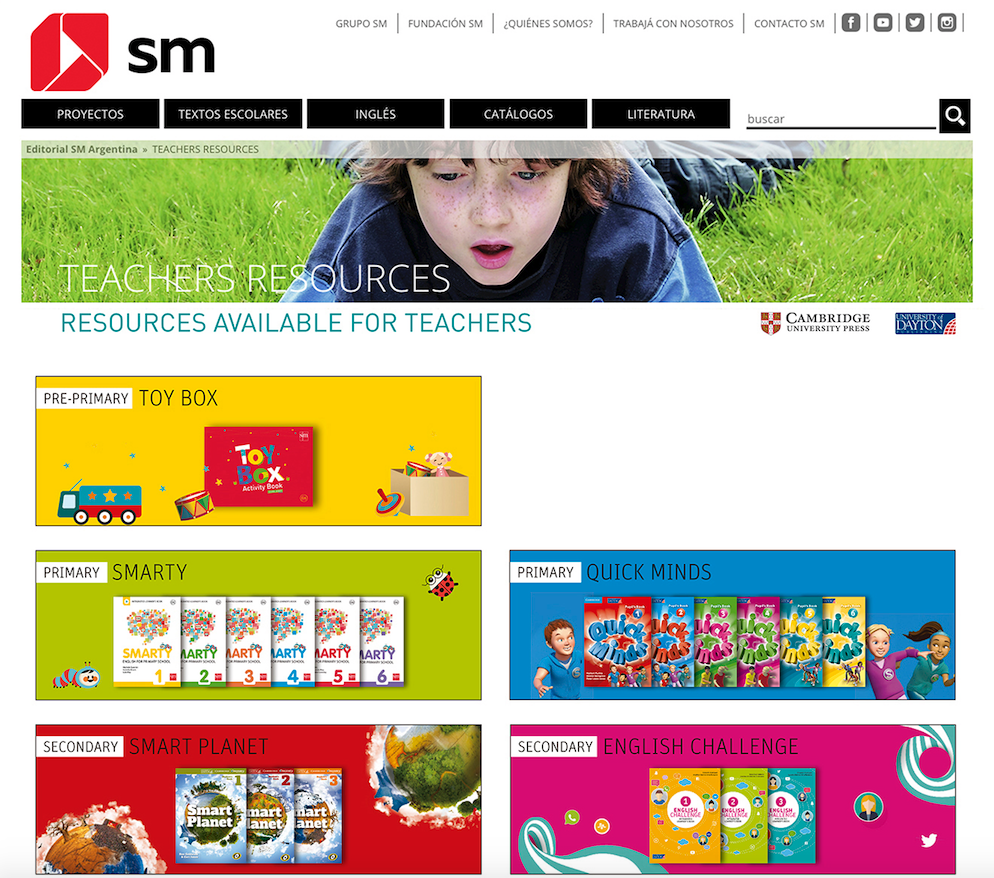 URL de producto | SM