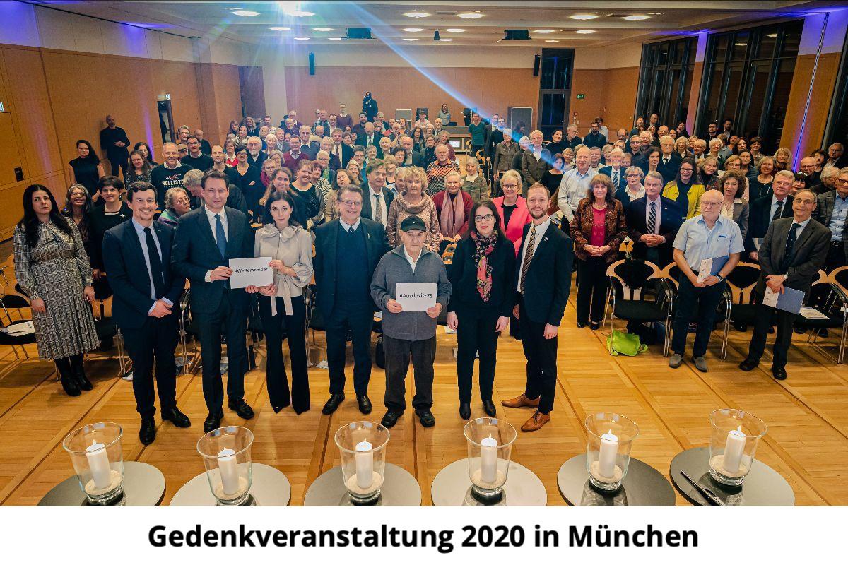 Symbolbild Gedenkveranstaltung in München 2019
