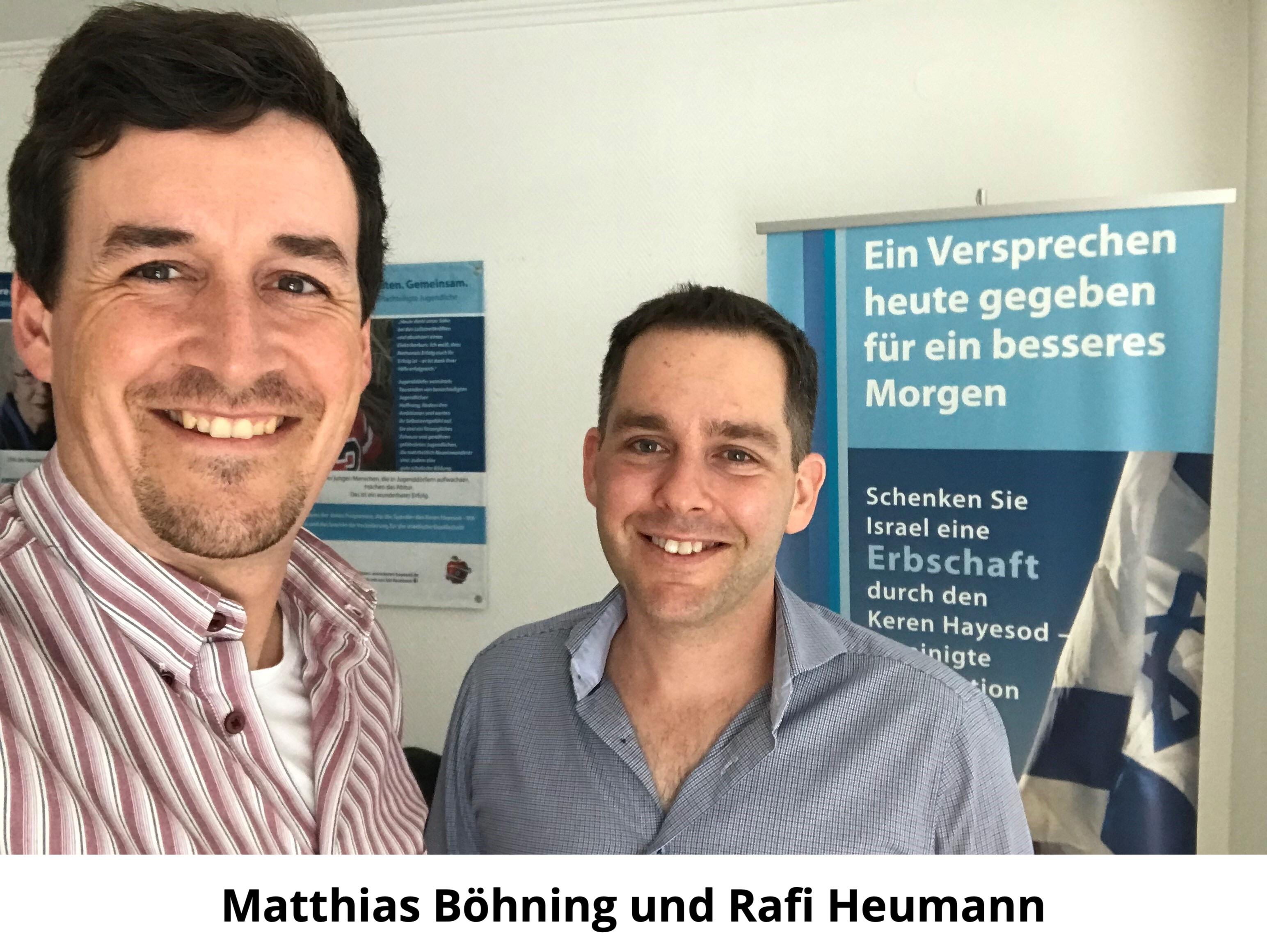Matthias Böhning und Rafi Heumann