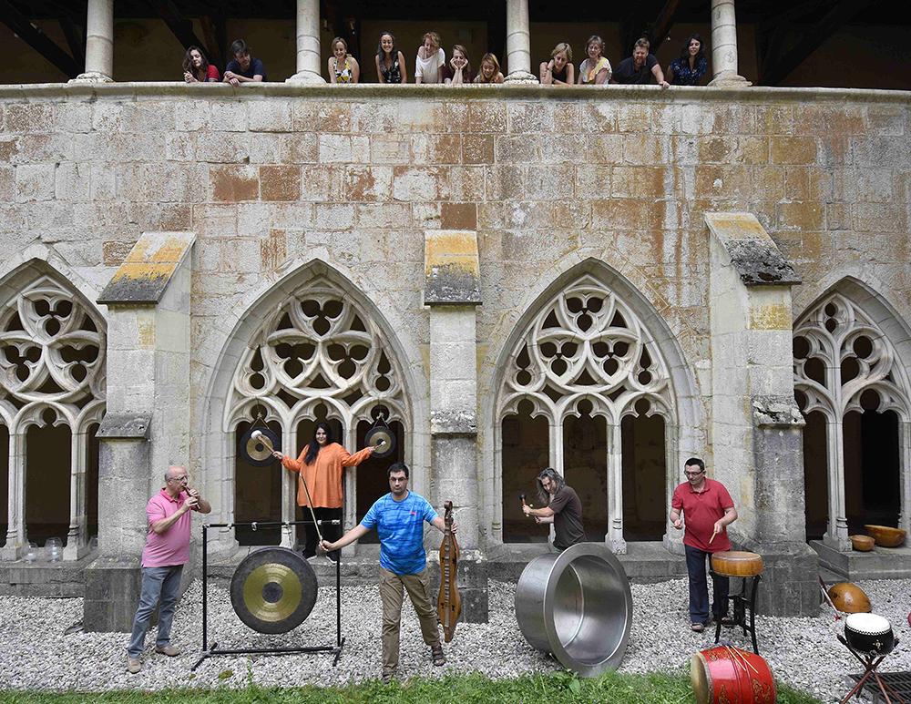 Percussions de Treffort © Bertand Pichène