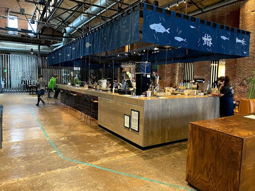 The Temaki wrap-around sushi bar in The Source + Market Hall