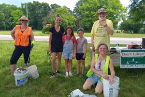 july 5th Cleanup Volunteers