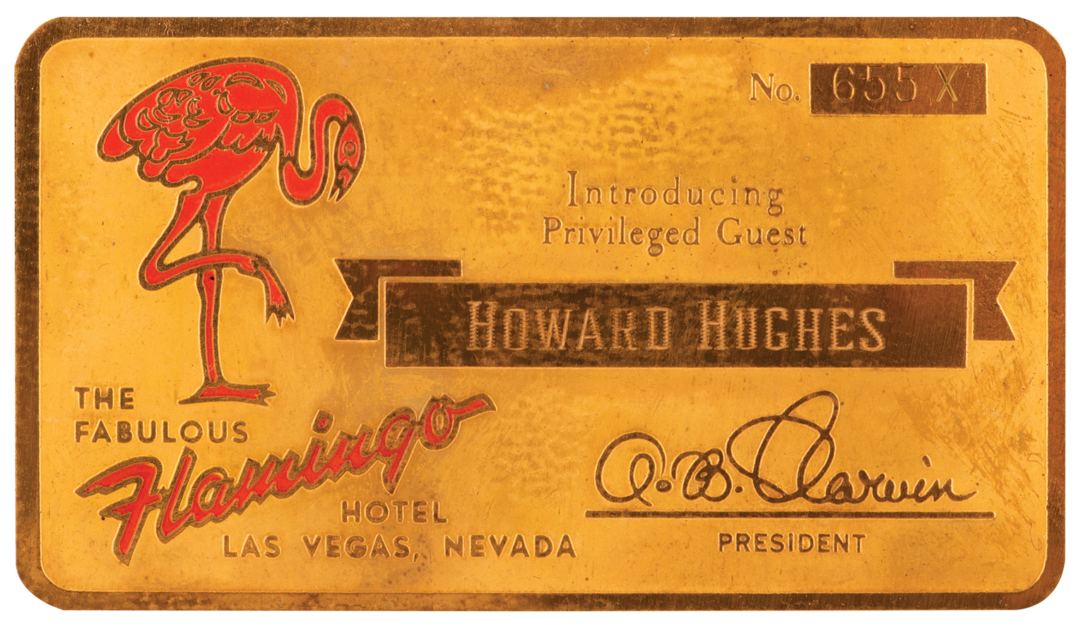 Profiles In History Announces The Howard Hughes Auction