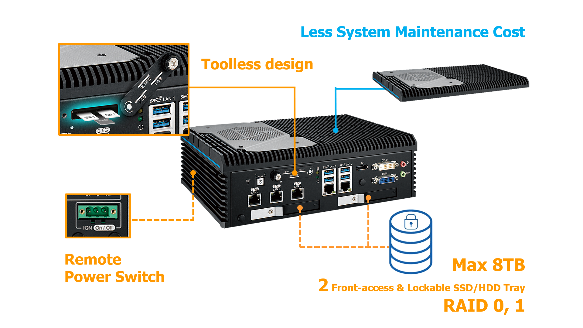 Vecow ECX-2000 supports smarter system maintenance