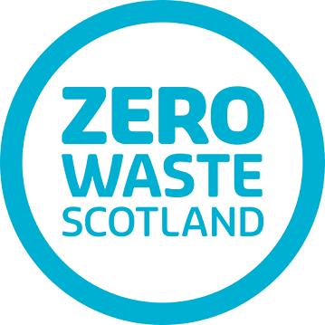 Zero Waste Scotland blue circle logo