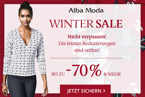 ALBA MODA bis -70% im Winter SALE
