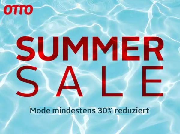 Bei OTTO -30% im SUMMER SALE