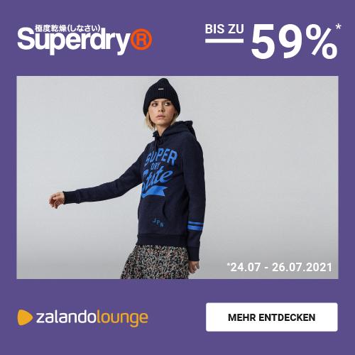 Superdry bis -59% bei ZALANDO Lounge