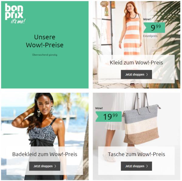 bonprix: Mode zu Wow!-Preisen