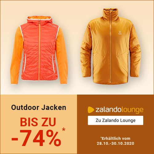 ZALANDO Lounge: Outdoor-JACKEN bis -74%