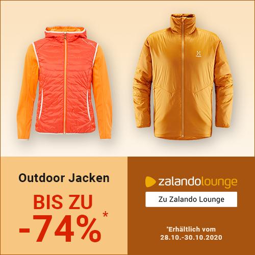 ZALANDO Lounge: Outdoor-JACKEN bis -74%